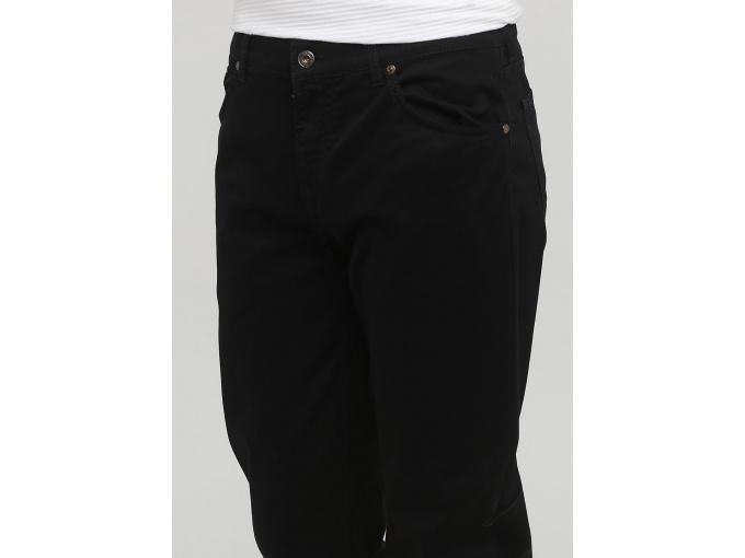 Чоловічі чорні завужені до низу брюки Alex на осінь-зиму