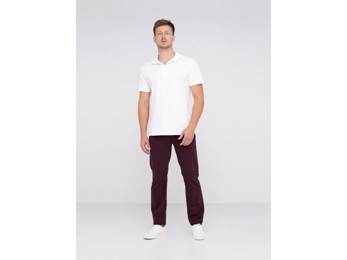 Бордові чоловічі брюки джинси Alex на осінь-зиму