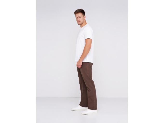 Коричневі чоловічі прямі брюки Claude на осінь-весну