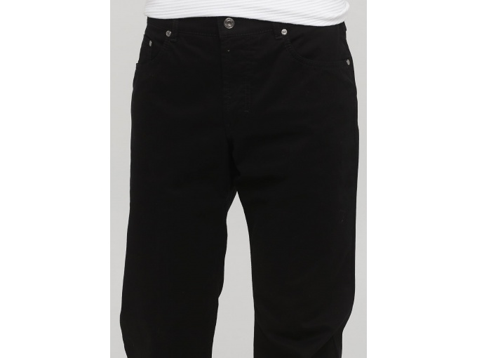 Теплі чорні прямі брюки джинси Сlaude