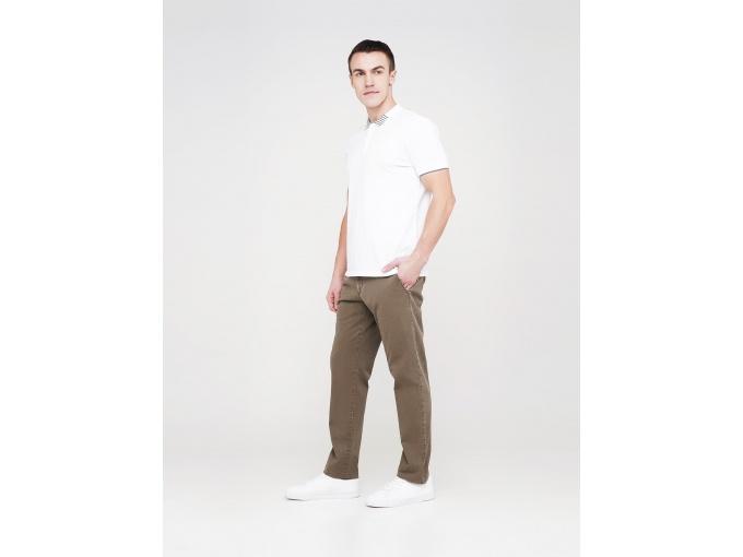 Коричневі чоловічі прямі брюки Elvis демісезонні