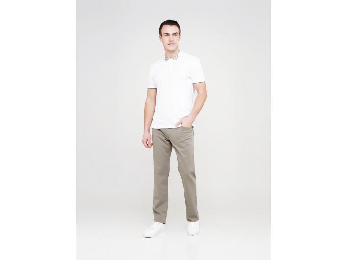 Чоловічі прямі брюки Elvis світло-оливкового кольору