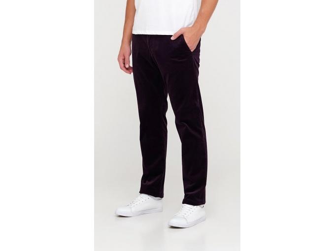 Темно-фіолетові вельветові чоловічі брюки Elvis