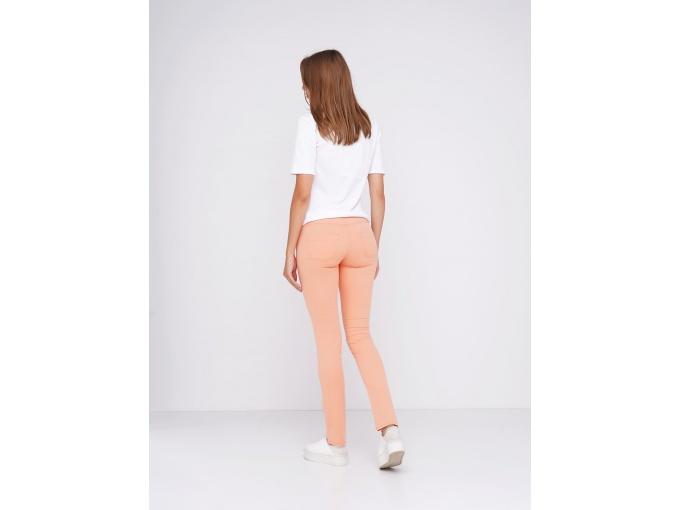 Ніжно-персикові жіночі брюки скіні Jessica