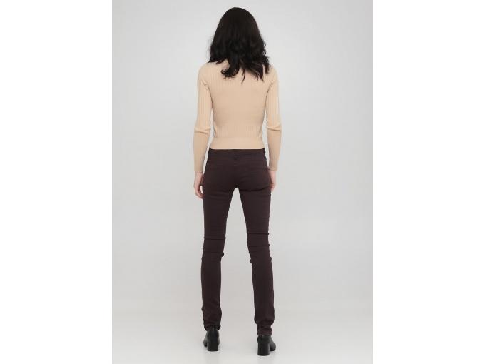 Бордові жіночі брюки Jessica сезон осінь зима