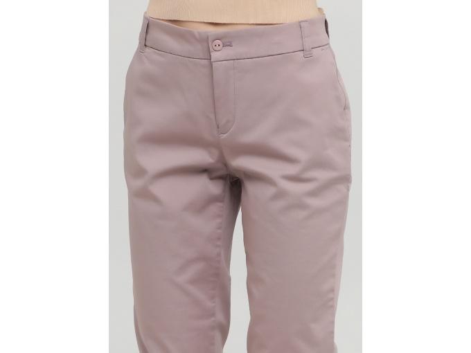 Пудрові жіночі брюки Lori сезон весна-літо