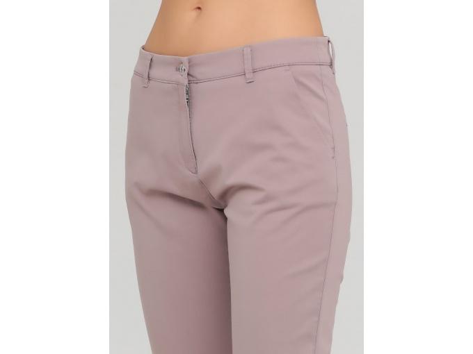 Пудрові жіночі легкі брюки Nury сезон весна літо
