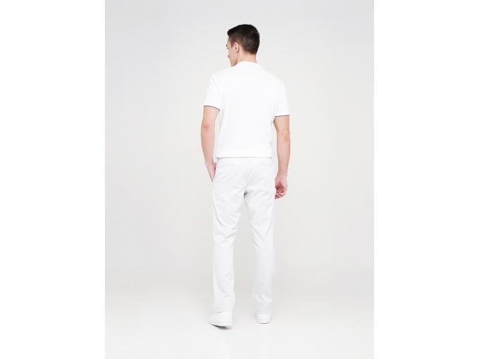 Білі легкі чоловічі брюки Rene