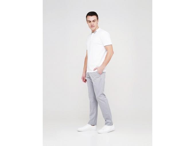 Світло-сірі чоловічі брюки Rene на сезон весна-літо