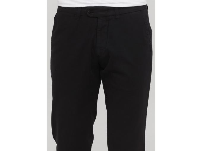 Чоловічі чорні завужені брюки Rene сезон весна-осінь