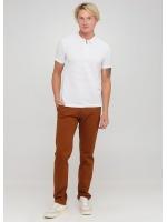 Чоловічі брюки Rene коричнево-рудого кольору демісезонні