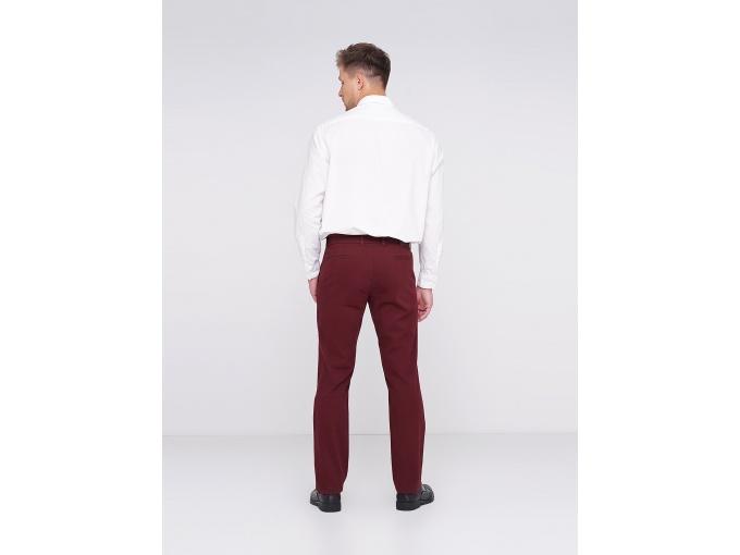 Бордові чоловічі брюки Rene на сезон осінь-зима