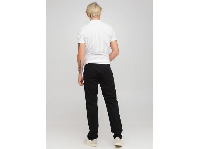 Демісезонні чорні чоловічі прямі брюки Steve