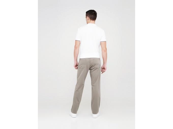Прямі чоловічі штани джинси Steve світло-оливкового кольору