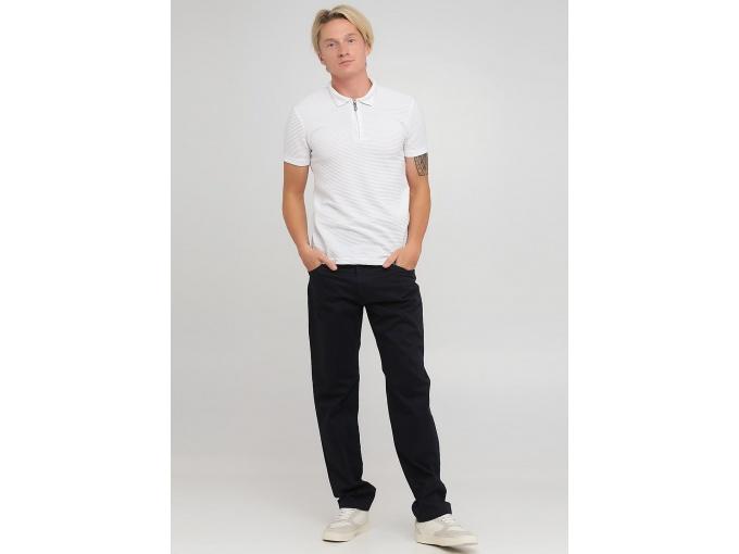 Темно-сині прямі брюки джинси Steve на сезон осінь-зима