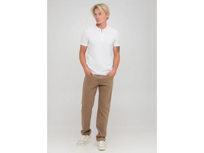 Світло-коричневі демісезонні чоловічі брюки Steve